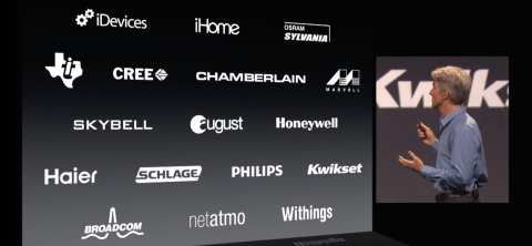 An impressive selection of home automation manufacturers are supporting HomeKit from the get-go.