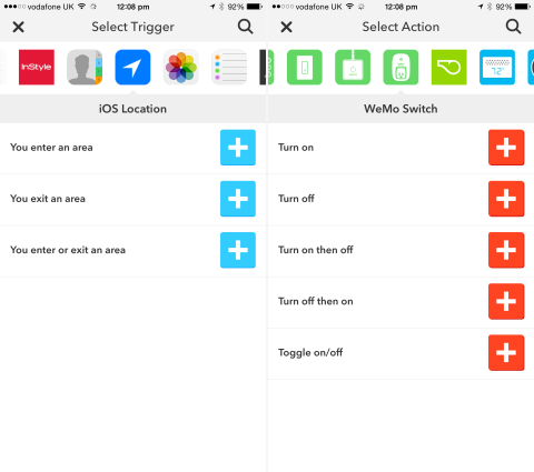 Users can customize this IFTTT automation recipe to suit any WeMo Switch-connected device.