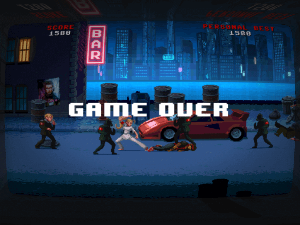 Fail fast, then get back into it – fast-paced arcade action at its best