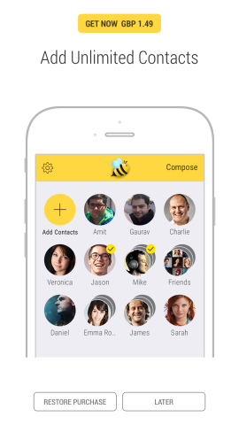 You can configure Bee's settings from inside of its iOS application. This can be downloaded free of charge.