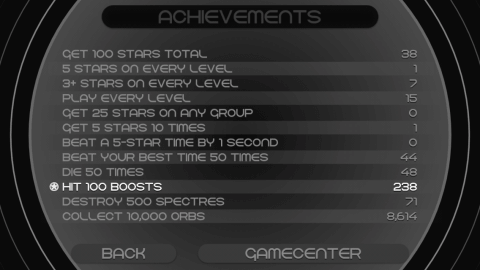 Additional achievements offer some alternative play