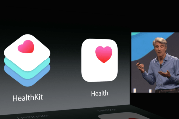 HealthKit and Health announced at WWDC 2014