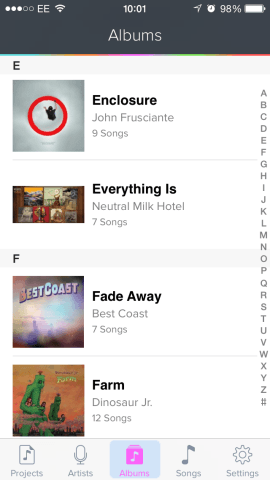 Just fire up a track from your Music app library and you're ready to go.