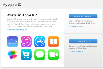 Apple ID header