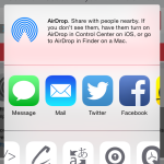 Tap Done and the next time you use the Share button, you'll see your action extensions ready to use.