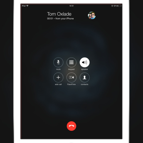 You can now answer calls on your iPad