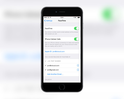 Enable iPhone Cellular Calls