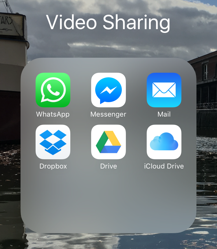Guide: How to share videos via the iOS Messages app without