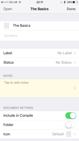 Assigning labels and statuses is simple